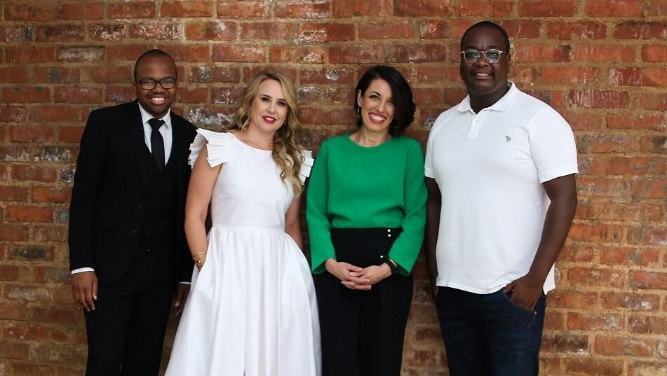 Zibusiso Mkhwanazi, Enelra Booth, Tiziana Tucci and Veli Ngubane